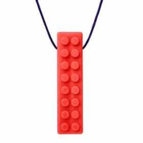 Arks bijtketting brick stick rood