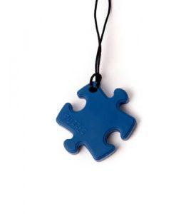 bijtketting puzzel blauw