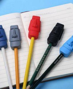 potloodtopper moai voor kauwbehoefte