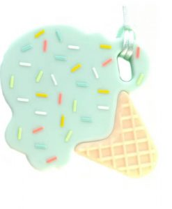 bijtketting ijsje mint