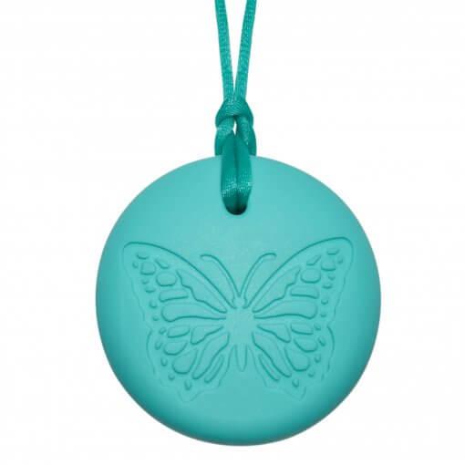 Munchables Butterfly Pendant Aqua