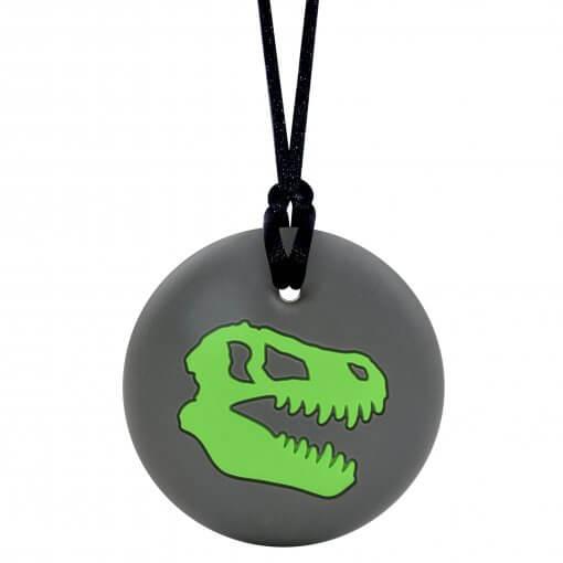 Munchables Dino Skull groen