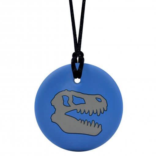 Munchables Dino Skull blauw/grijs