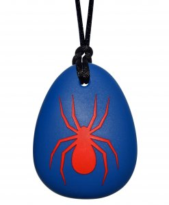 Munchables Spider blauw/rood